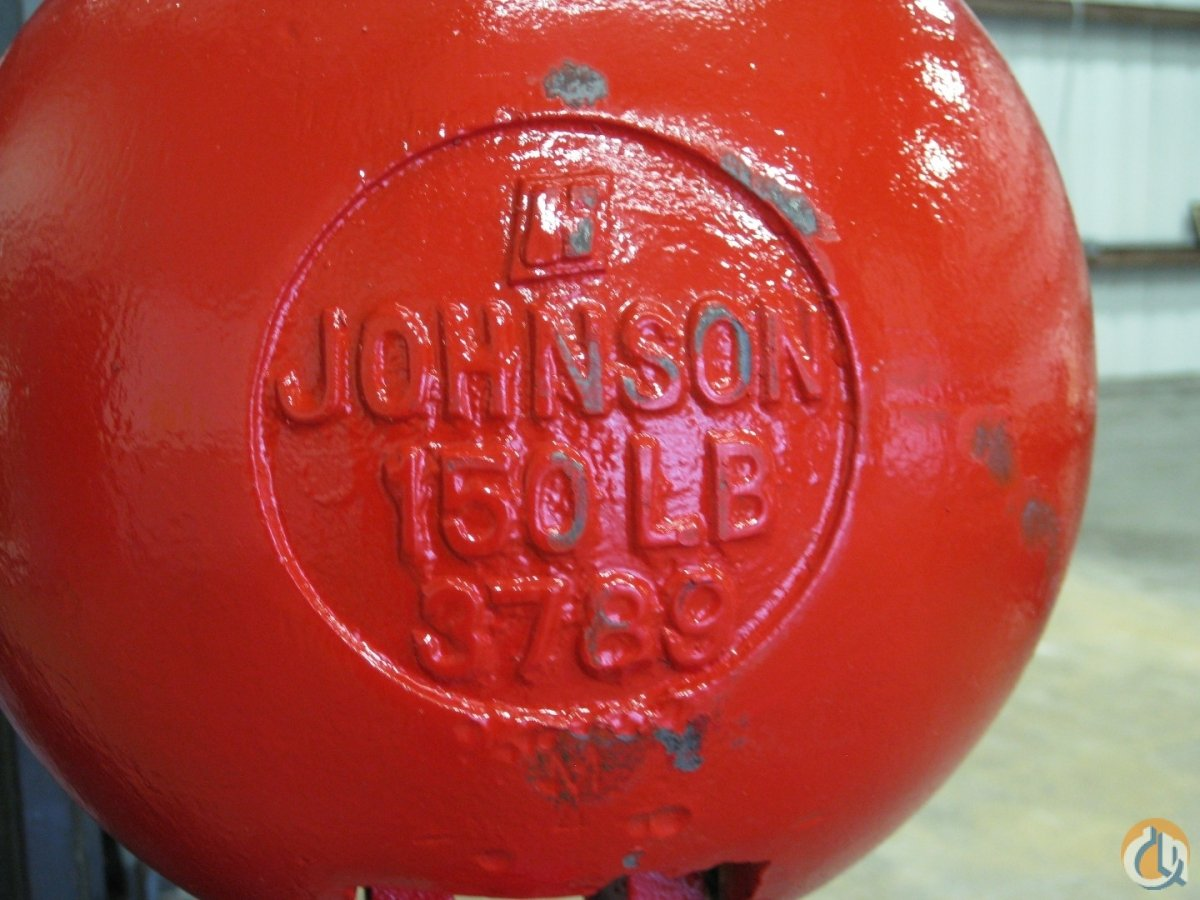 Johnson 12 Ton Ball Overhaul Hook Balls Crane Part for Sale in Fort Pierce Florida on CraneNetwork.com