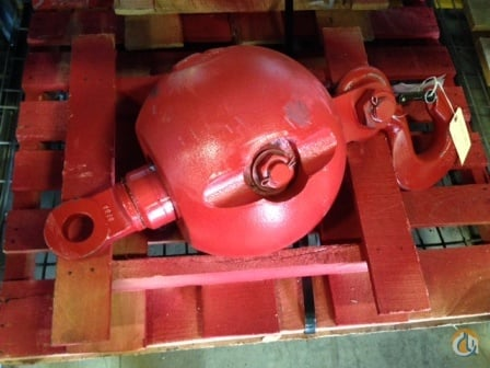 Gunnebo Johnson 12 Ton Overhaul Ball Overhaul Hook Balls Crane Part for Sale in Syracuse New York on CraneNetwork.com