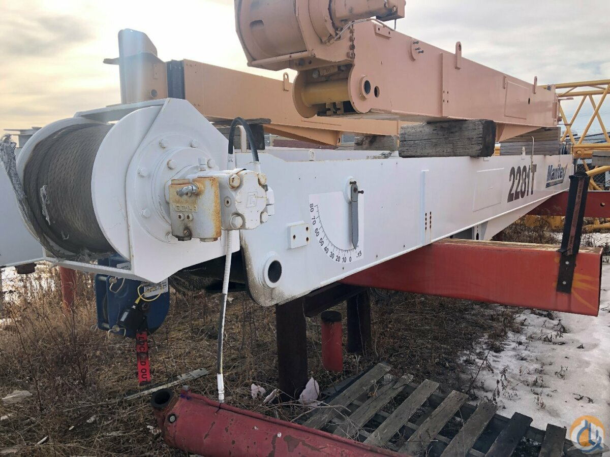 Manitex Manitex 2281C or 2281T Complete Boom Assembly  Boom Hoist Assembly Crane Part for Sale in Leduc Alberta on CraneNetwork.com