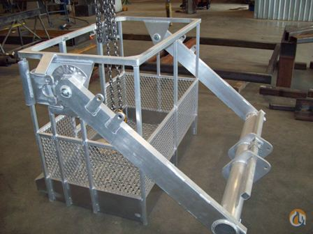 Various Manufacturers New aluminum 2 Man basket Man Baskets Crane Part for Sale on CraneNetwork.com
