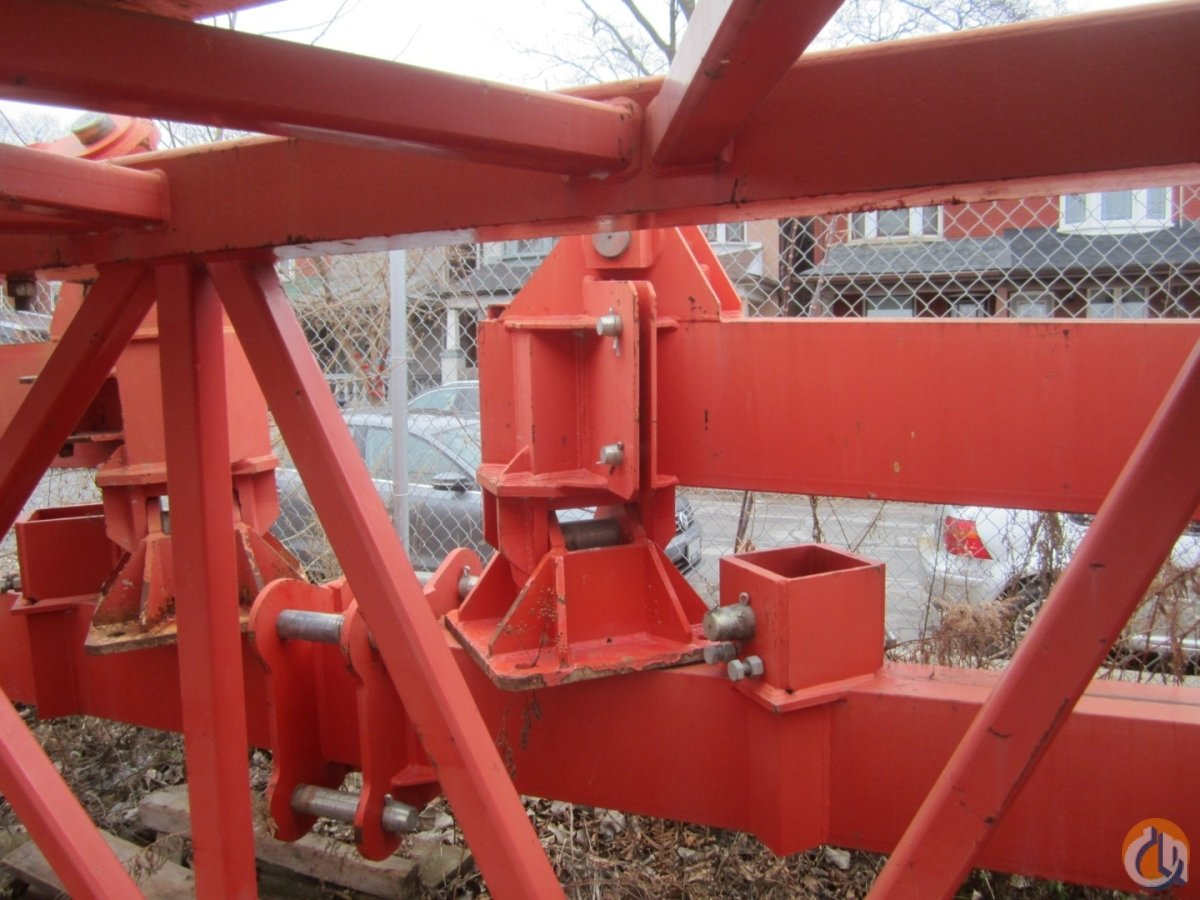 Comedil Static Base for Comedil CTT331 Static Base Crane Part for Sale in Toronto Ontario on CraneNetwork.com