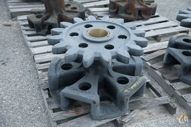Manitowoc 48971 Tumbler Sprocket for 4100 Crawler Parts Crane Part for Sale in Belle Chasse Louisiana on CraneNetwork.com