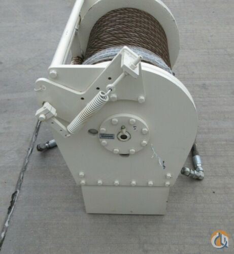 Braden BRADEN GEARMATIC WINCH PD15B-SPL-34V061031-06UG GROOVED DRUM 15OOO lbs. Winches  Drums Crane Part for Sale in Coffeyville Kansas on CraneNetwork.com