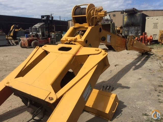 Pitman Pitman Hydra-Lift model HL-14T76 - 76' - Hydraulic Boom