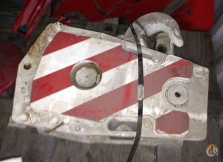 Terex Demag 63 Ton Hook Block Hook Block Crane Part For