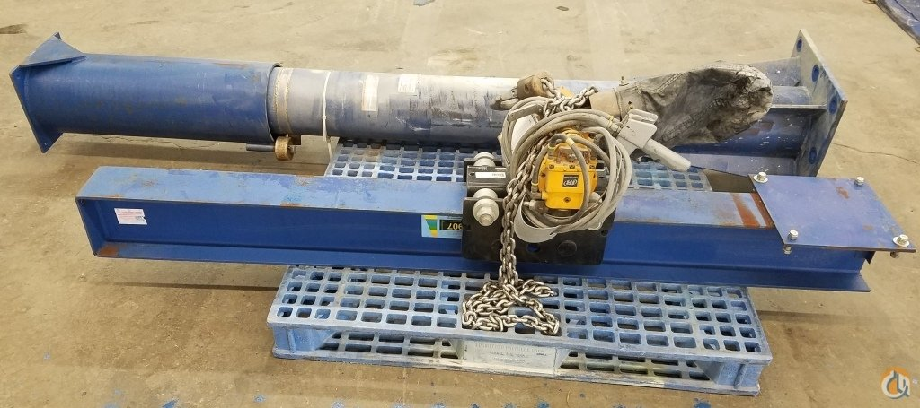 Ingersoll Rand VESTIL JIB CRANE JIB-FM-20 2000  CAP INGERSOLL-RAND HOIST HL1000KR-2DA10-R6U HoistsWinches Crane Part for Sale in Coffeyville Kansas on CraneNetwork.com