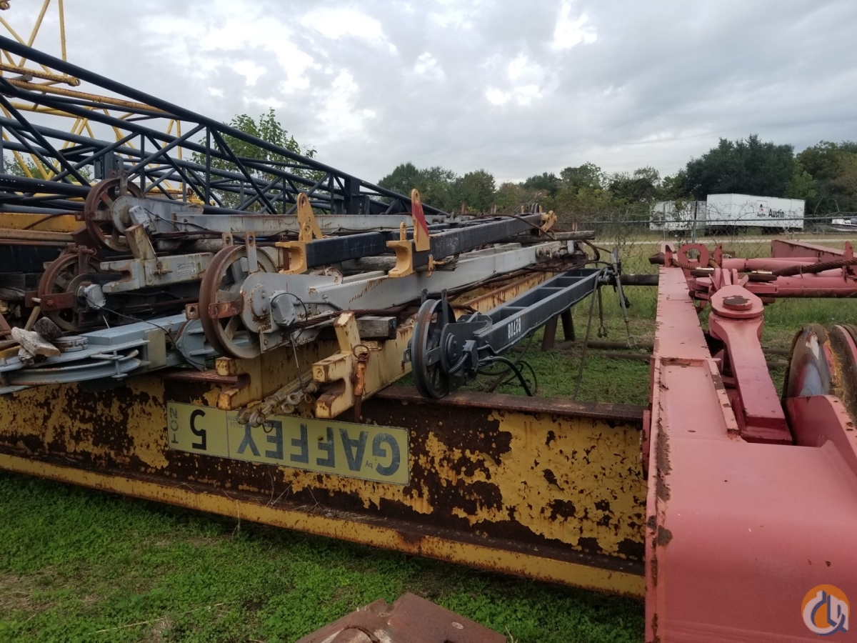 Grove Grove RT58C or RT58D 23 A Frame Jib CranesList ID 266 Jib Sections  Components Crane Part for Sale on CraneNetwork.com