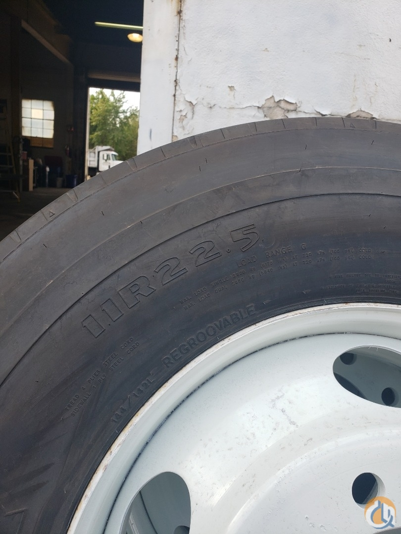 Goodyear 11R22.5 Wheel and Tire Assy Tires Crane Part for Sale in Branchburg New Jersey on CraneNetwork.com