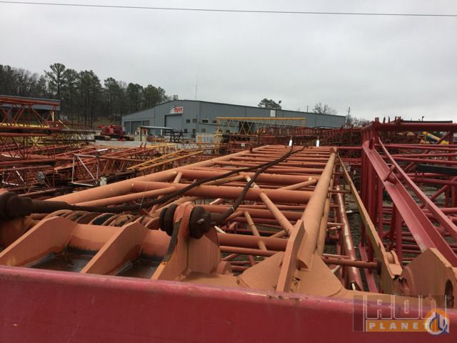 Manitowoc Manitowoc 2250 Max-Er Luffing Jib Jib Luffing Crane Part for Sale in Alabaster Alabama on CraneNetwork.com