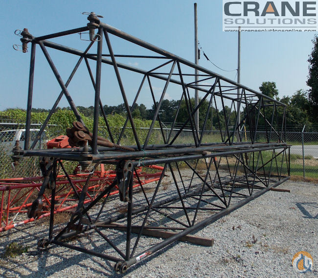 Link-Belt BOOM SECTIONS FOR LINK BELT LS138H II Boom Sections Crane Part for Sale in Savannah Georgia on CraneNetwork.com
