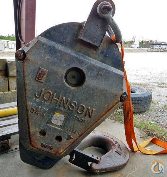 Johnson 60-Ton Johnson Load Block Hook Block Crane Part for Sale in Lexington South Carolina on CraneNetwork.com