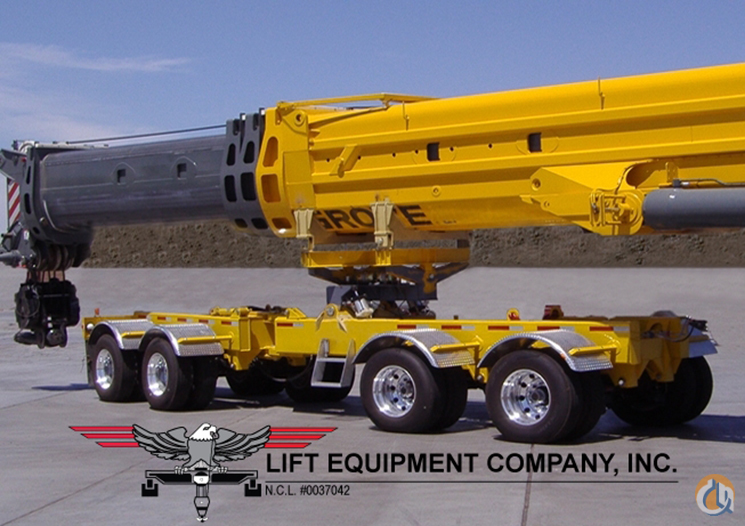 Transworld Manufacturing 4 Axle Boom Dolly Boom Dolly Crane Part for Sale on CraneNetwork.com