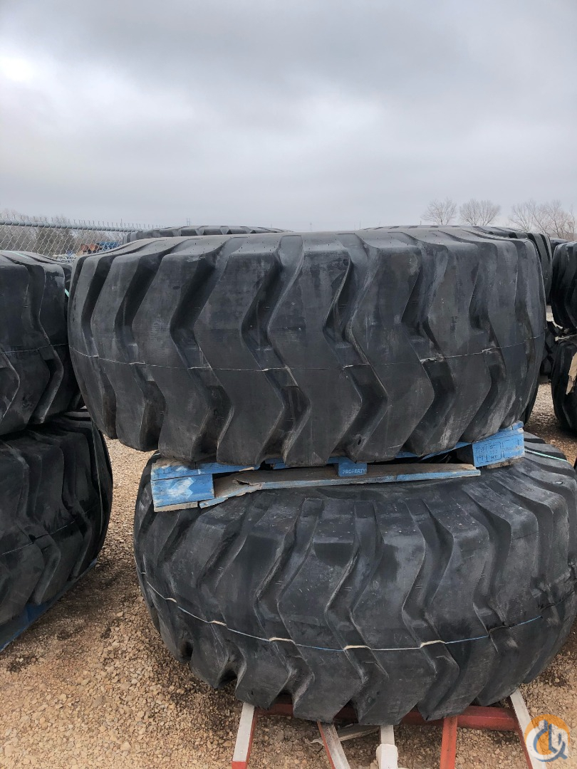 Terex 29.5R25 Tires for sale Tires Crane Part for Sale in Oklahoma City Oklahoma on CraneNetwork.com