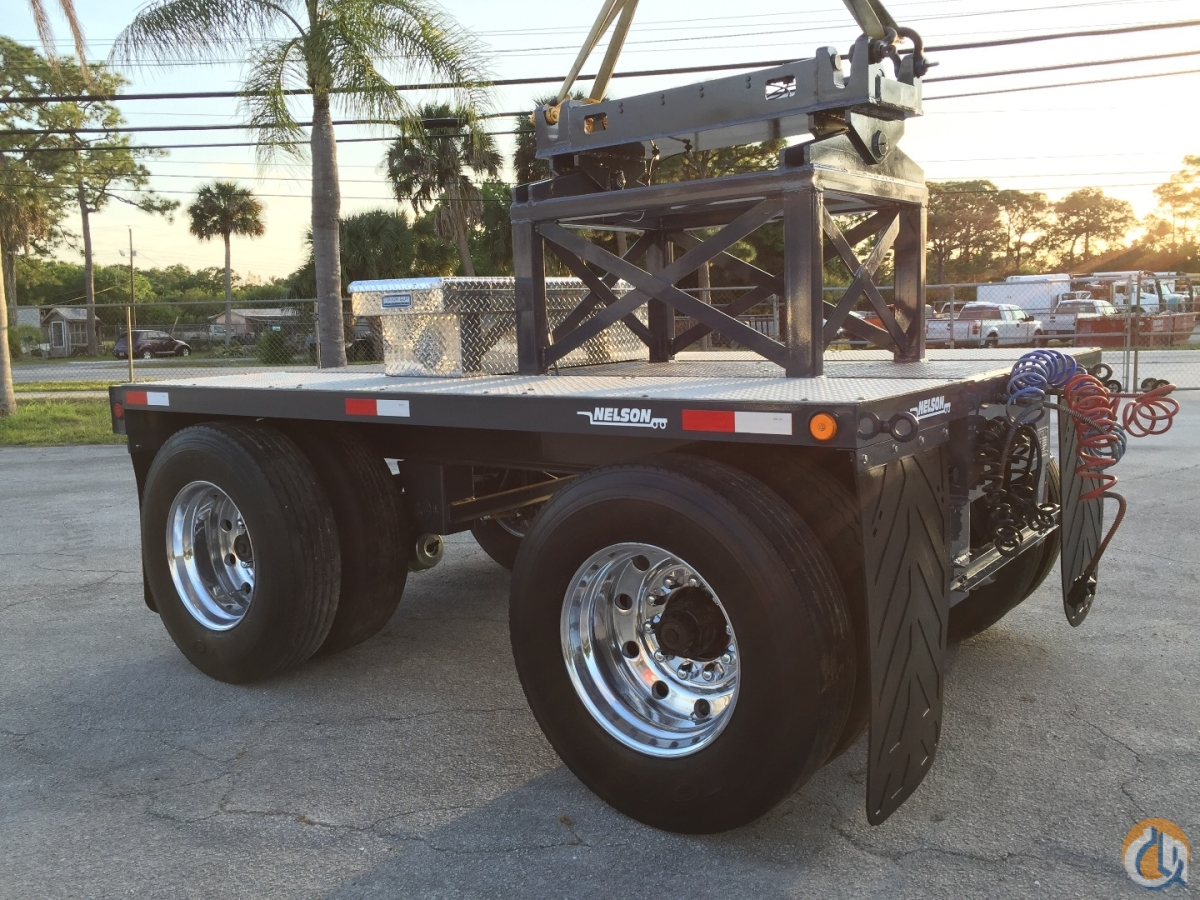 Nelson Nelson 2 axle air pinning and air ride dolly setup to carry cwts Boom Dolly Crane Part for Sale in Fort Pierce Florida on CraneNetwork.com