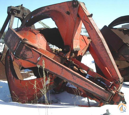 Mack Mack 5-Tyne Grapple Grapples and Shears Crane Part for Sale on CraneNetworkcom