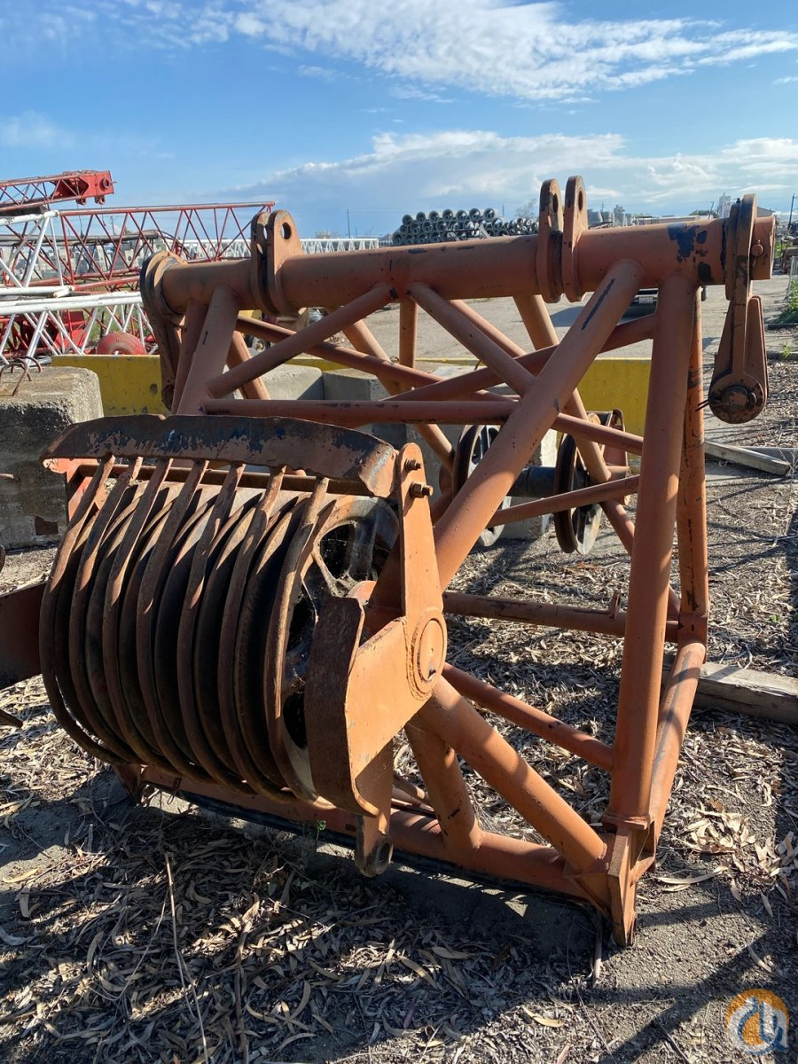 Link-Belt Link-Belt HC238 5 Hammer Head Tip CranesList ID 410 Boom Sections Crane Part for Sale on CraneNetwork.com