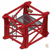 Terex Terex-Comedil Climbing Cage HD 22.6 2014 Miscellaneous Parts Crane Part for Sale in Tukwila Washington on CraneNetwork.com