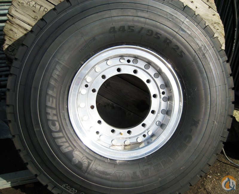 Michelin Michelin Tires on Aluminum Rims Tires Crane Part for Sale on CraneNetwork.com