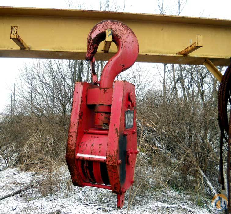 Sumitomo 50-Ton Metric Hook Block Hook Block Crane Part for Sale on CraneNetwork.com