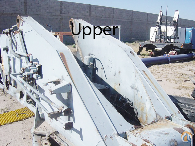 PampH 1985 PampH Alpha 100 Parts Cranes for Parts Crane Part for Sale in Long Beach California on CraneNetworkcom