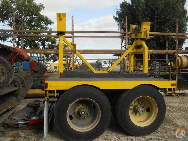 Unknown TWO AXLE BOOM DOLLY FOR SALE Boom Dolly Crane Part for Sale in Fontana California on CraneNetwork.com