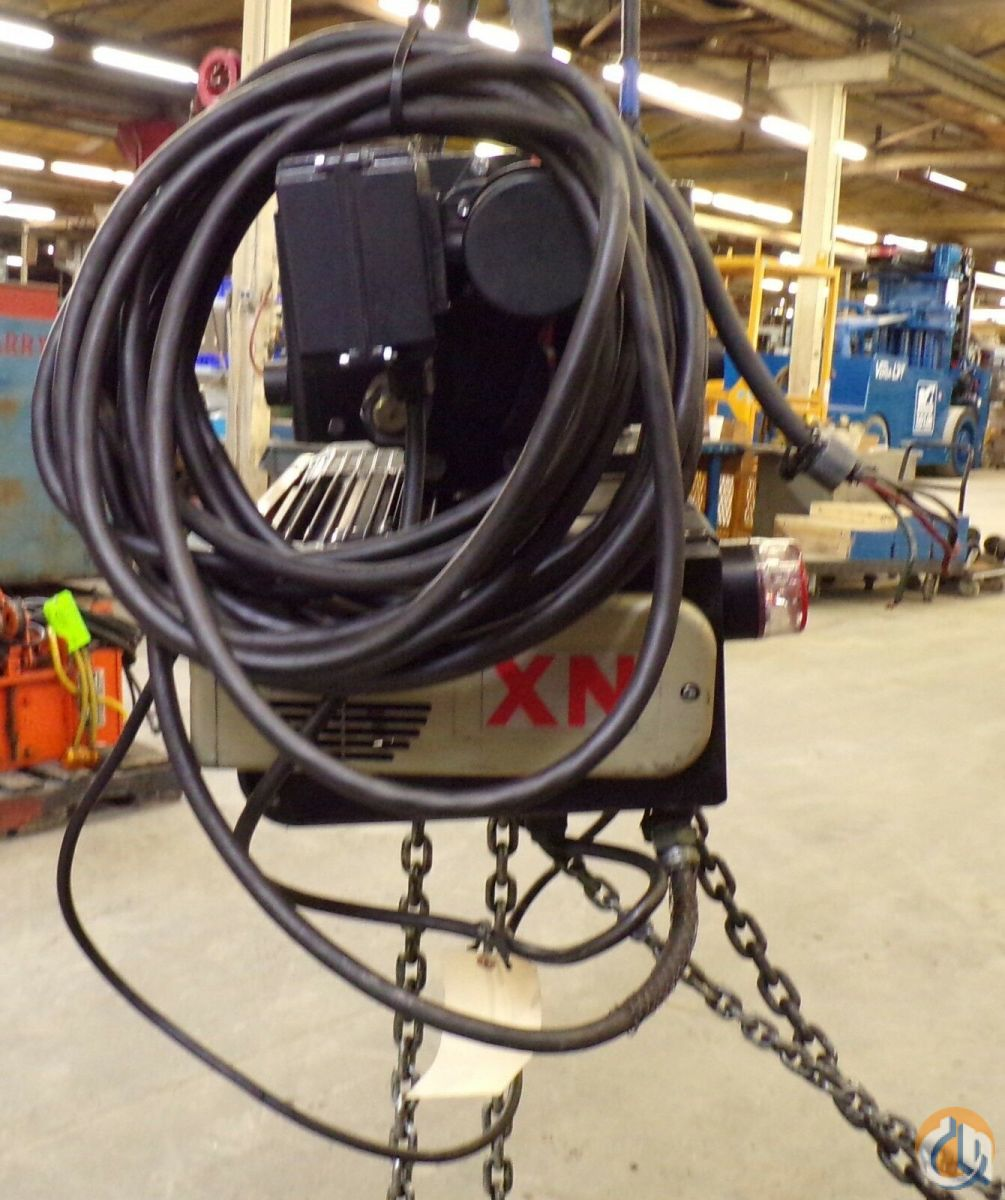 Kone KONECRANES 3 TON ELECTRIC CHAIN HOIST HoistsWinches Crane Part for Sale in Coffeyville Kansas on CraneNetwork.com
