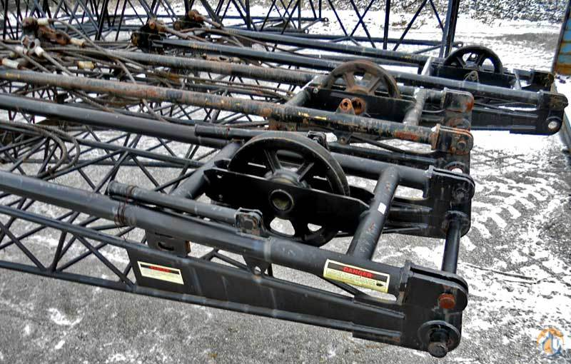 Sumitomo 40039 Jib w Pendent Lines Jib Sections  Components Crane Part for Sale on CraneNetwork.com