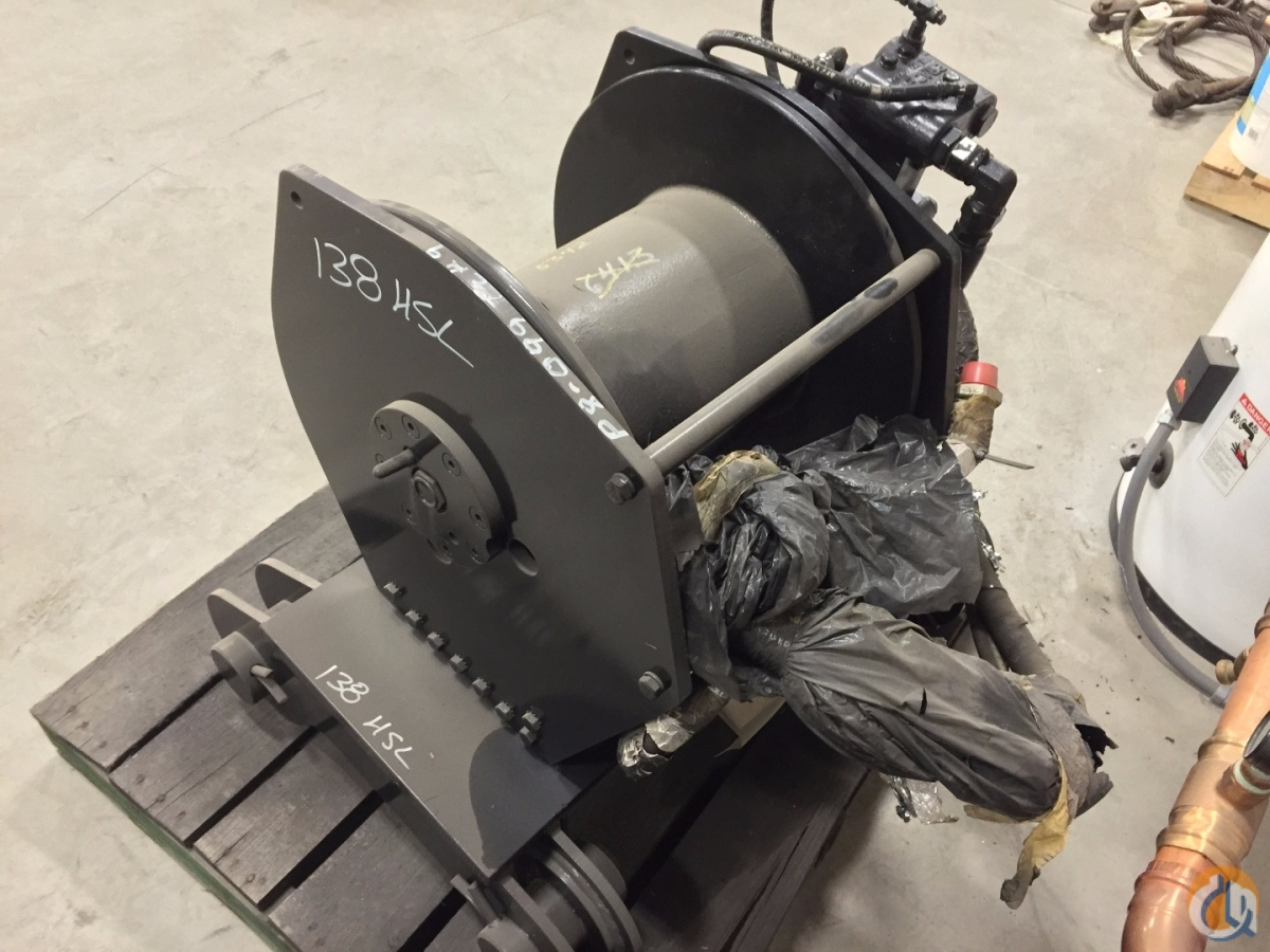 Link-Belt 3rd Drum Assembly Winches  Drums Crane Part for Sale in Oxford Massachusetts on CraneNetworkcom