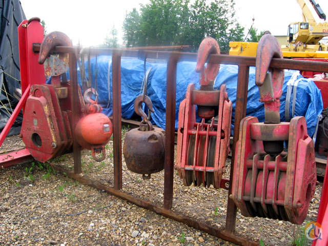Johnson Various Blocks and Balls Hook Block Crane Part for Sale on CraneNetworkcom