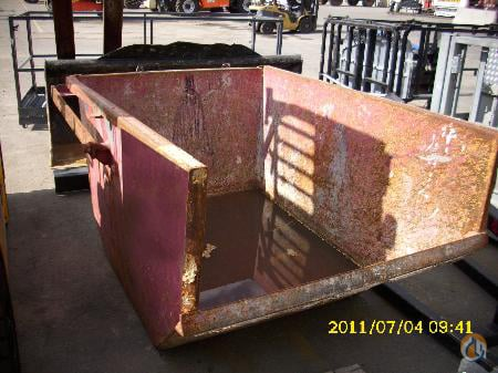 HMT HMT Self Dumping Bin 2008 Miscellaneous Parts Crane Part for Sale in Abbotsford British Columbia on CraneNetwork.com