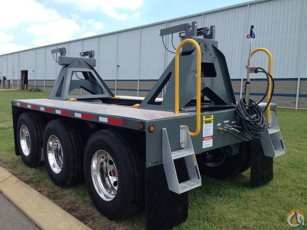 Greenfield Products 3-Axle Boom Dolly Boom Dolly Crane Part for Sale in Union City Tennessee on CraneNetworkcom