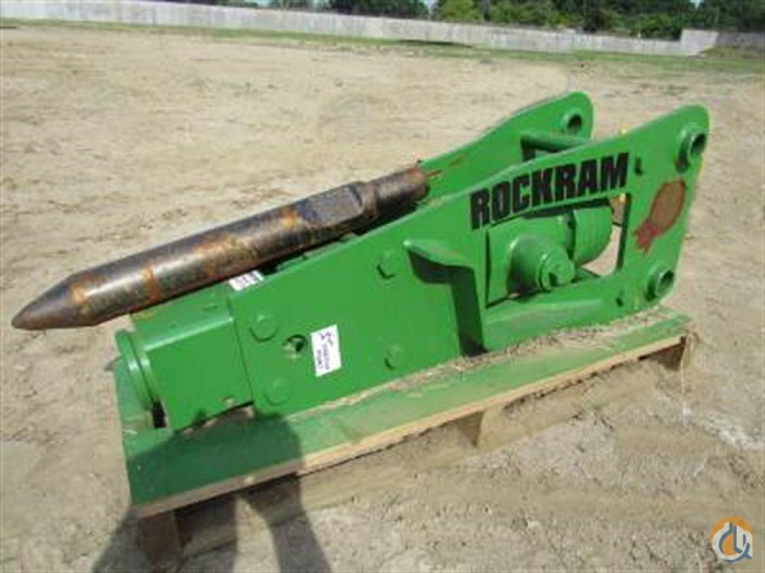 Rockram 2015 ROCKRAM JZ740 Hydraulic Rock Hammer Buckets Drag Clam Concrete Crane Part for Sale in Houston Texas on CraneNetwork.com