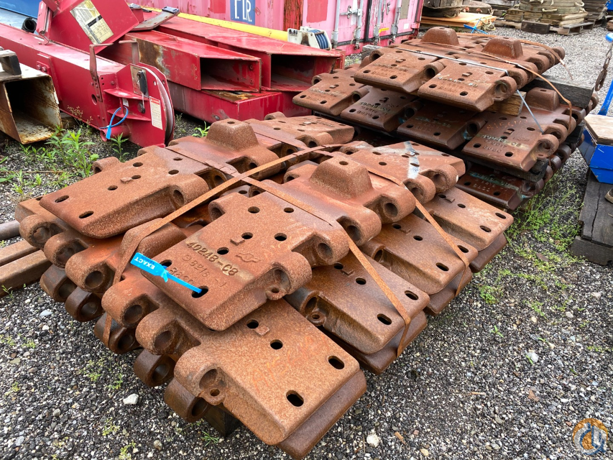Manitowoc Track Pads Tracks  Sideframes Crane Part for Sale in Solon Ohio on CraneNetwork.com