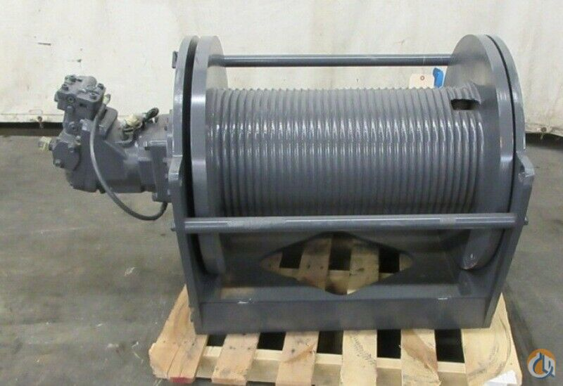 Braden BRADEN GEARMATIC WINCH CH210A-SPL-50V061037-05GR 21000 lbs CAP. GROOVED DRUM Winches  Drums Crane Part for Sale in Coffeyville Kansas on CraneNetwork.com