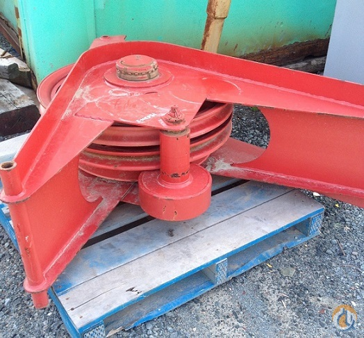 Manitowoc Triple Sheave Boom Tip Guide Assembly Sheaves  Crane Part for Sale in Halifax Regional Municipality Nova Scotia on CraneNetwork.com