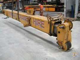 Krupp Krupp KMK 2025 Boom w Fly Section Boom Sections Crane Part for Sale on CraneNetworkcom