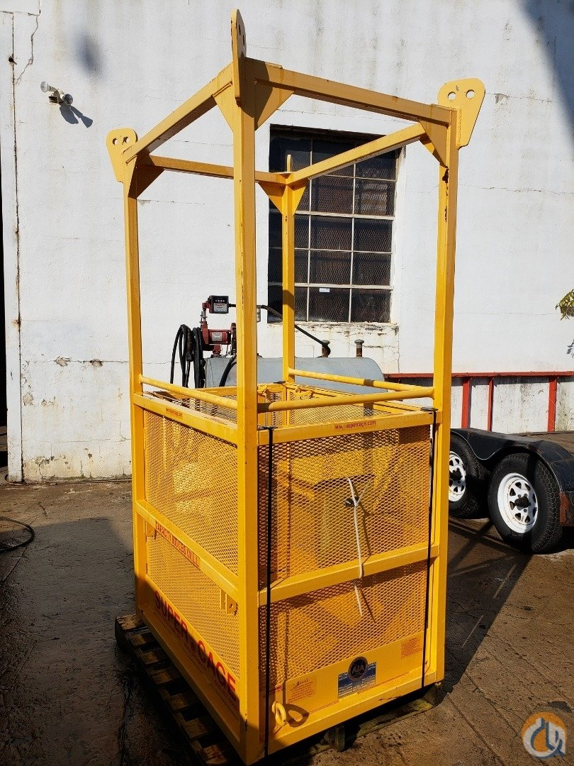 Supercage SuperCage S50 Man Baskets Crane Part for Sale in Branchburg New Jersey on CraneNetwork.com