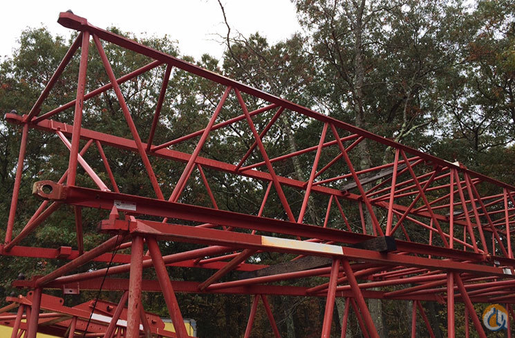 Manitowoc 20039 Fact Connected 133 Luffing Jib Inser Jib Sections  Components Crane Part for Sale in Easton Massachusetts on CraneNetworkcom