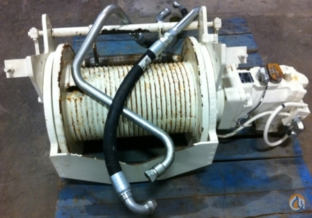 Terex RT345-1XL AUX. WINCH Winches  Drums Crane Part for Sale in New York New York on CraneNetwork.com