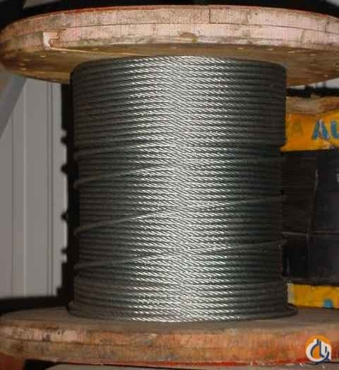 Unknown 13mm Wire Rope Ropes Crane Part for Sale in Syracuse New York on CraneNetwork.com