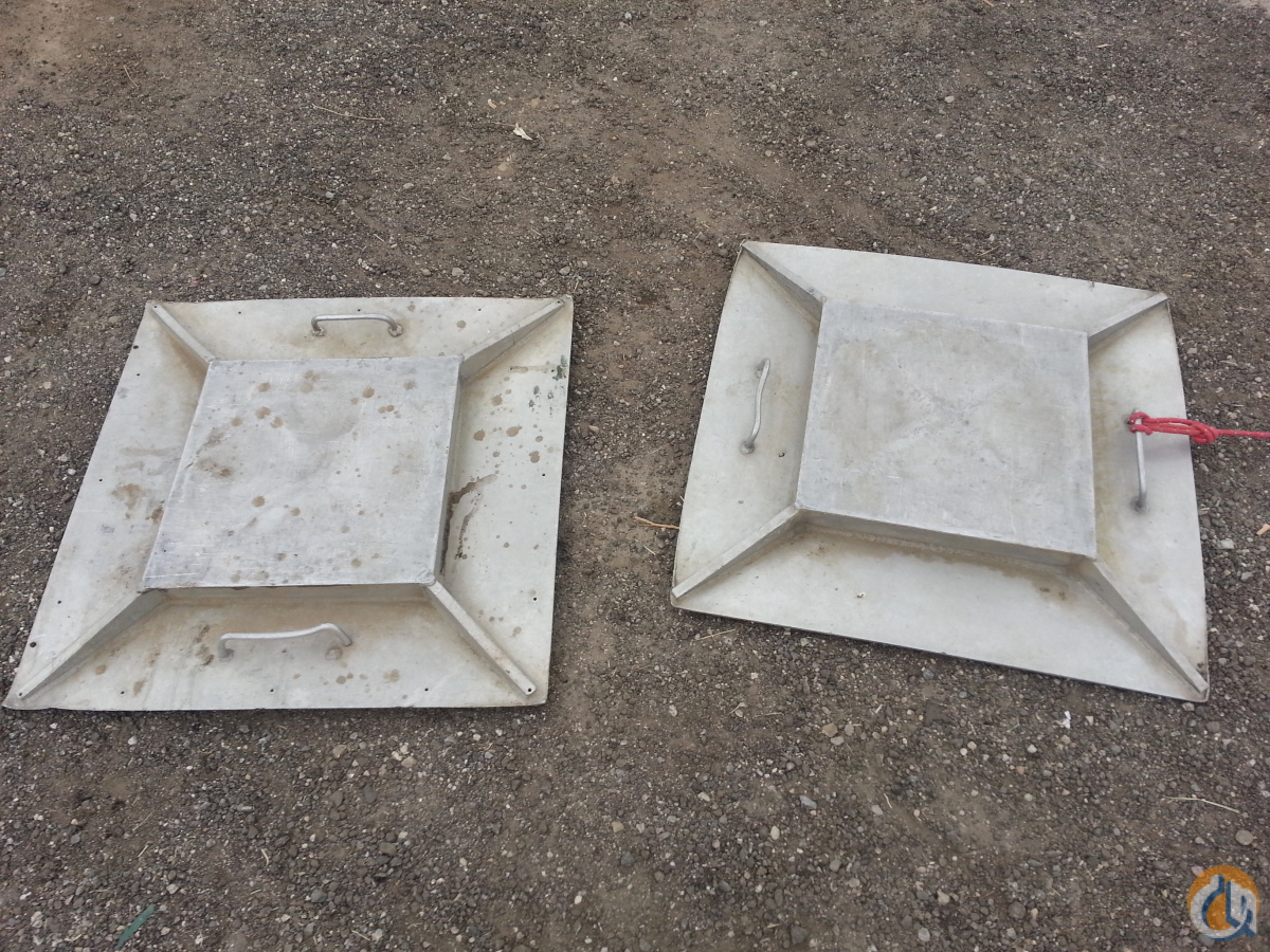 Unknown Outrigger Pads Outriggers and Shoes Crane Part for Sale on CraneNetworkcom