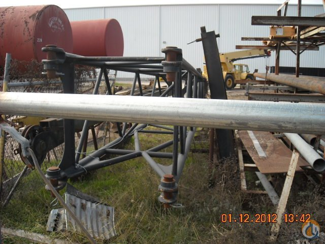 PampH PampH OMEGA 40 S.A.W. JIB AND A-FRAME JIB Jib Sections  Components Crane Part for Sale on CraneNetwork.com