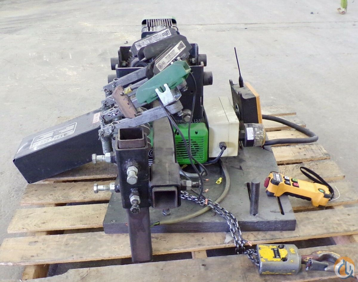 Stahl STAHL CHAIN HOIST ST05 12 TON INMOTION CONTROLS HS SERIES RECEIVER  TRANSMI HoistsWinches Crane Part for Sale in Coffeyville Kansas on CraneNetwork.com