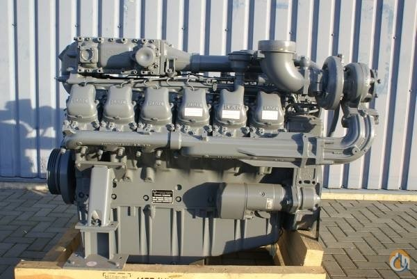 MAN MAN NEW FACTORY ENGINES Engines  Transmissions Crane Part for Sale on CraneNetworkcom