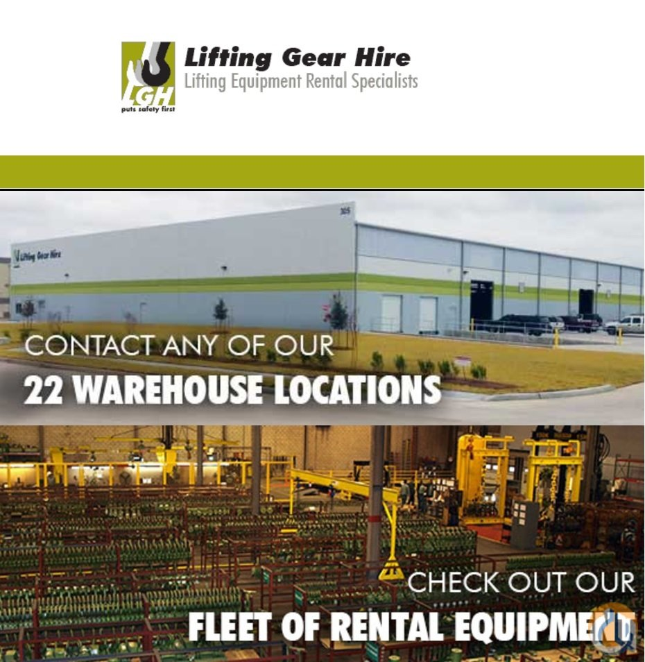 Various Manufacturers One source for all your lifting needs Want to Buy Crane Part for Sale in Bridgeview Illinois on CraneNetwork.com