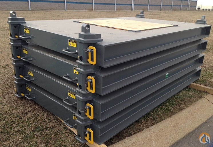Greenfield Products Steel Outrigger Crane Mats Outrigger Mats Pads and Cribbing Crane Part for Sale in Union City Tennessee on CraneNetworkcom