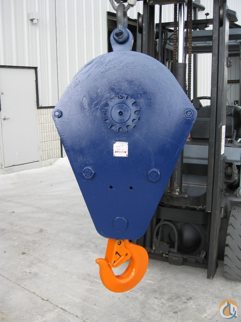 McKissick 30 Ton Block Hook Block Crane Part for Sale in Fort Pierce Florida on CraneNetwork.com