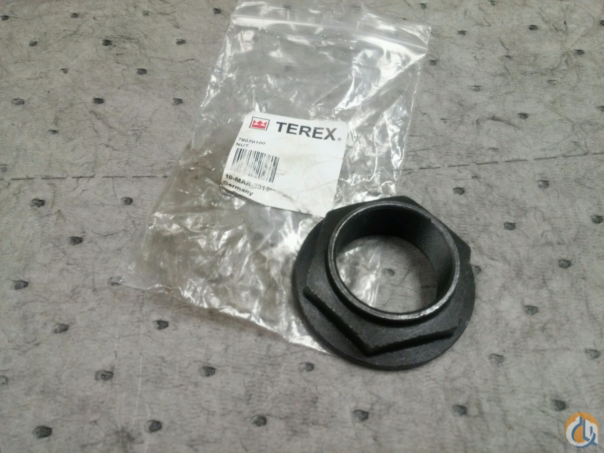 Terex Nut Miscellaneous Parts Crane Part for Sale on CraneNetwork.com
