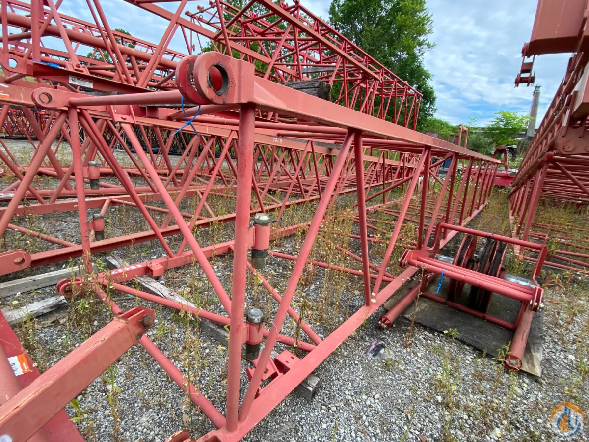 Manitowoc Manitowoc 2250 Luffing Jib Set Jib Luffing Crane Part for Sale in Solon Ohio on CraneNetwork.com