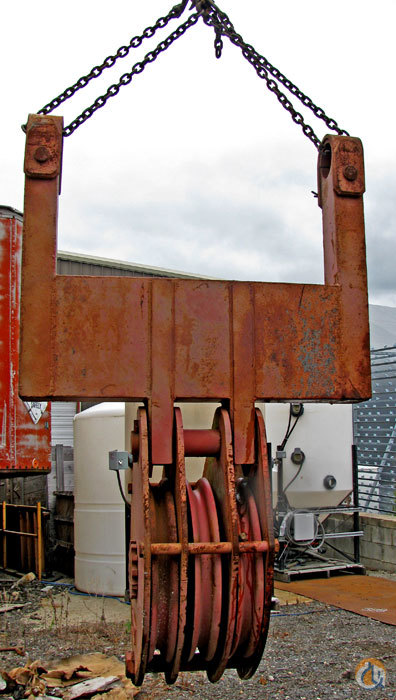 McKissick 5 X SHEAVE BLOCK   SIZE 36 Sheaves  Crane Part for Sale on CraneNetwork.com